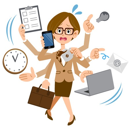 Employees too busy - juggling multiple tasks
