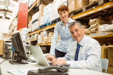user friendly erp system - ERP users in warehouse